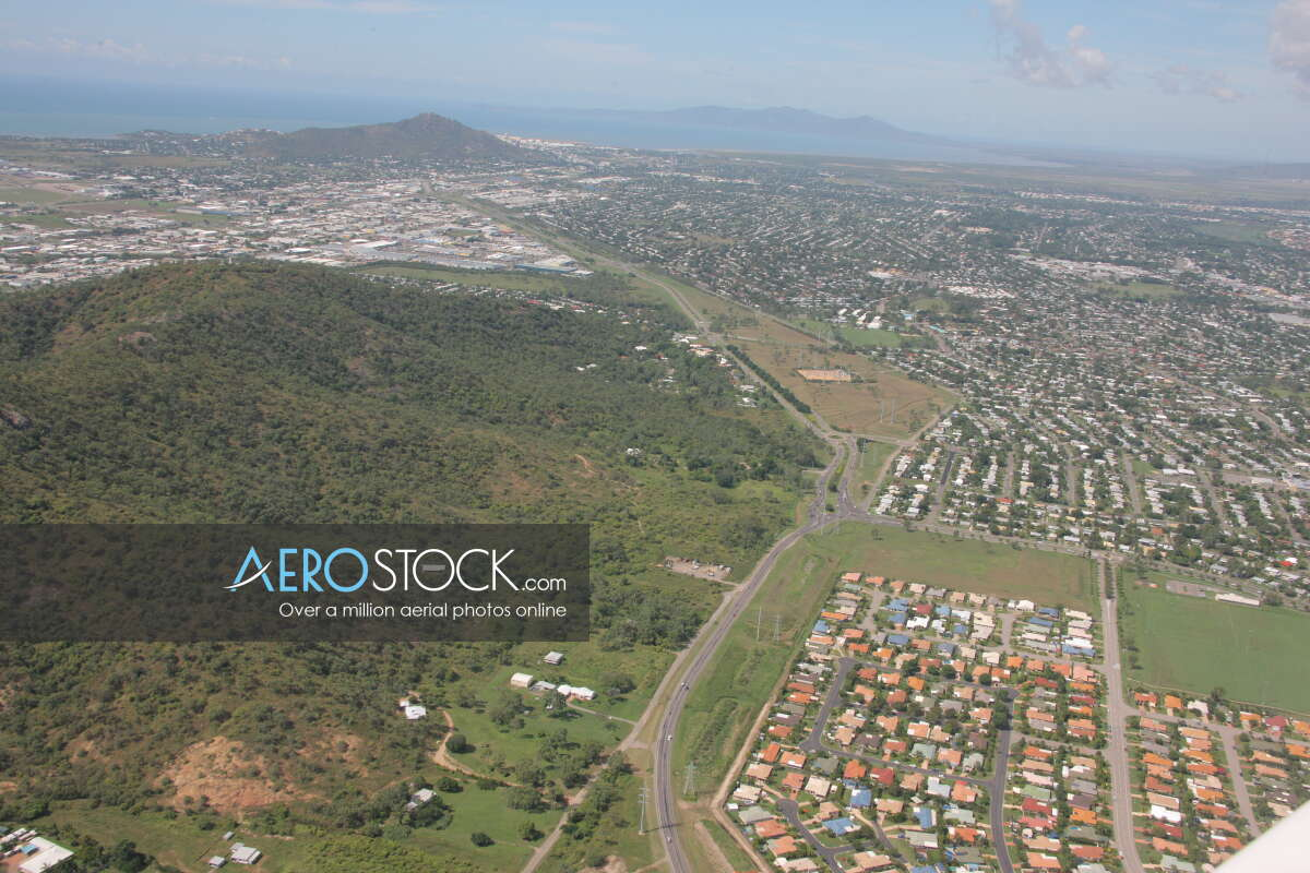 Sky-high image of Cosgrove, Townsville