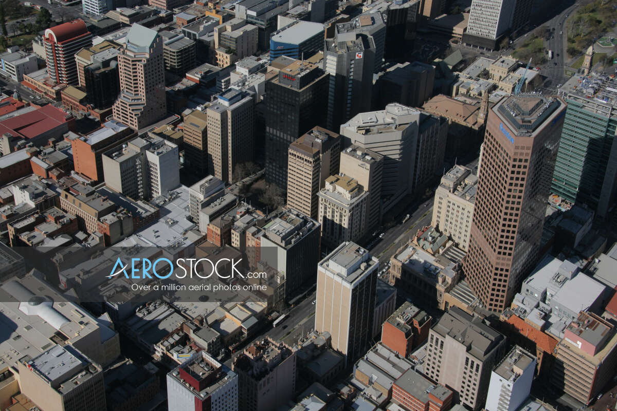 High definition panoramic aerial photo of Adelaide