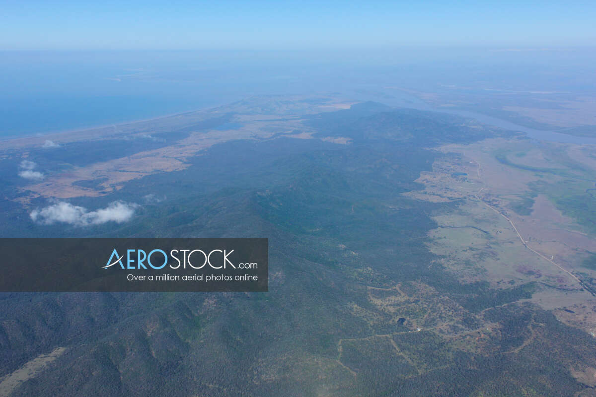 Sky-high image of Livingstone taken on the August 30th, 2012 14:42