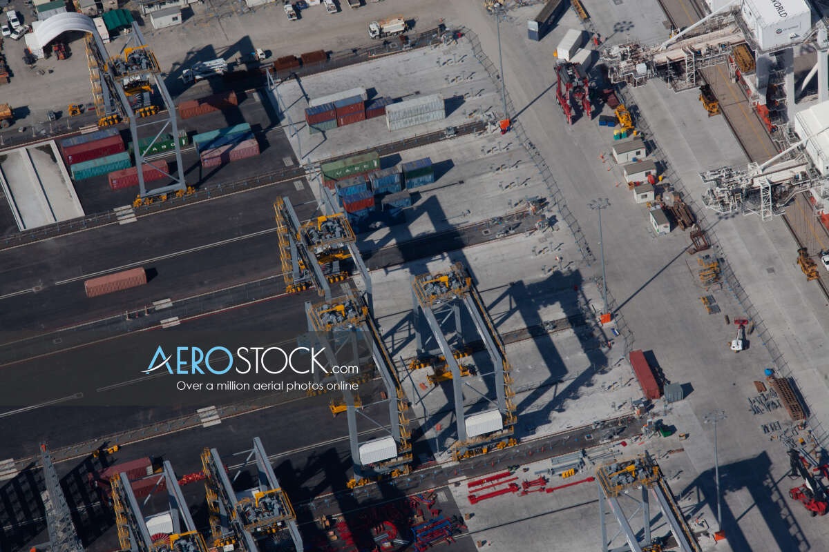 High resolution stock image of Port Of Brisbane, QLD.