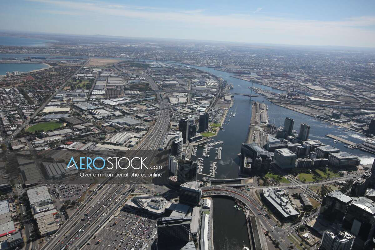 Aerial pic of Melbourne, VIC