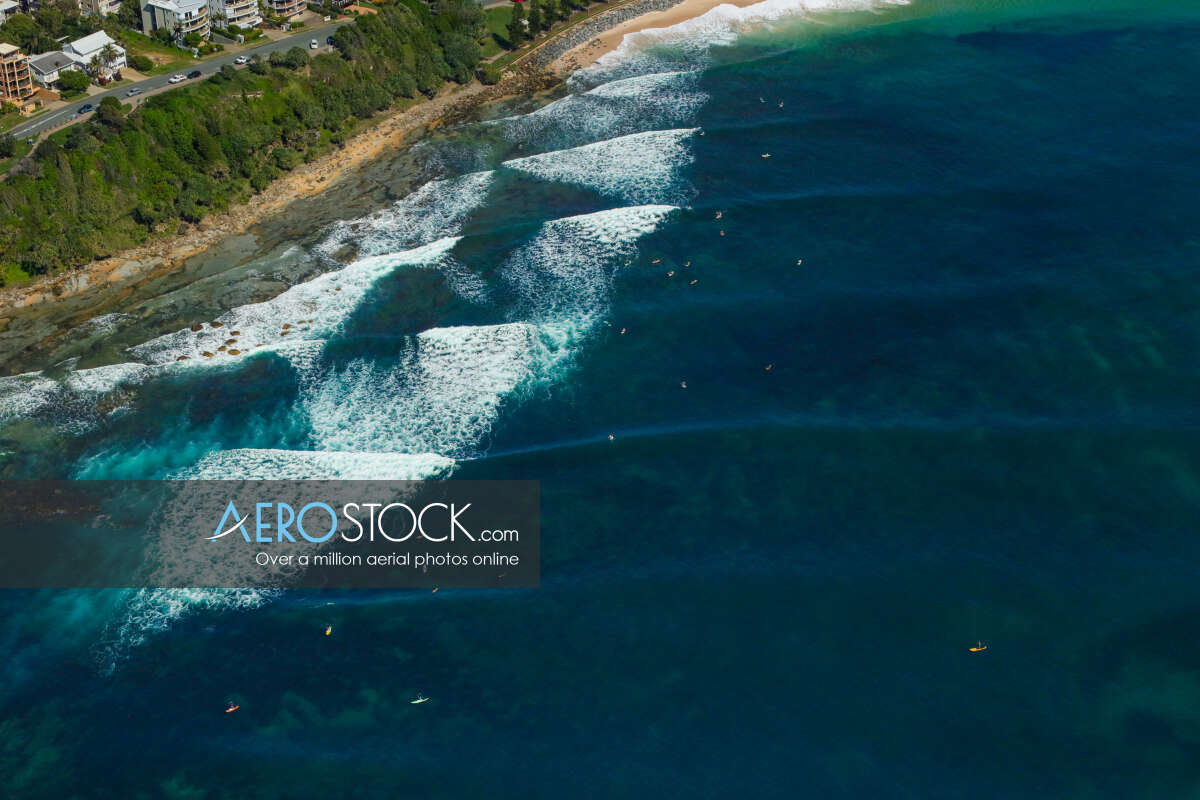 High definition image of Moffat Beach in QLD.
