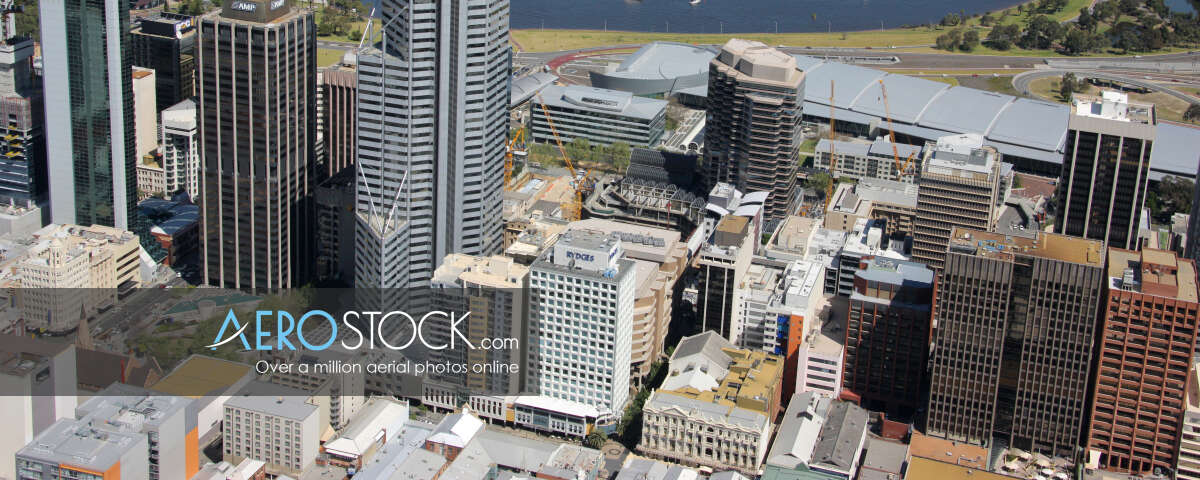 Full size stock image of West Perth, WA.