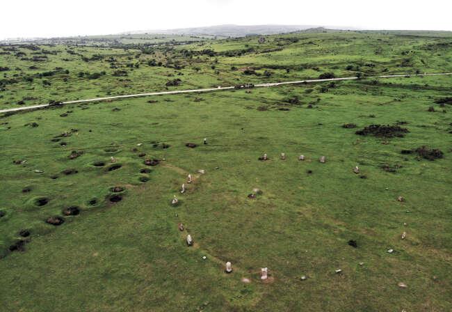 Hurlers stone Circles , Cornwall England