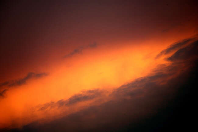 Sky's Red Passion