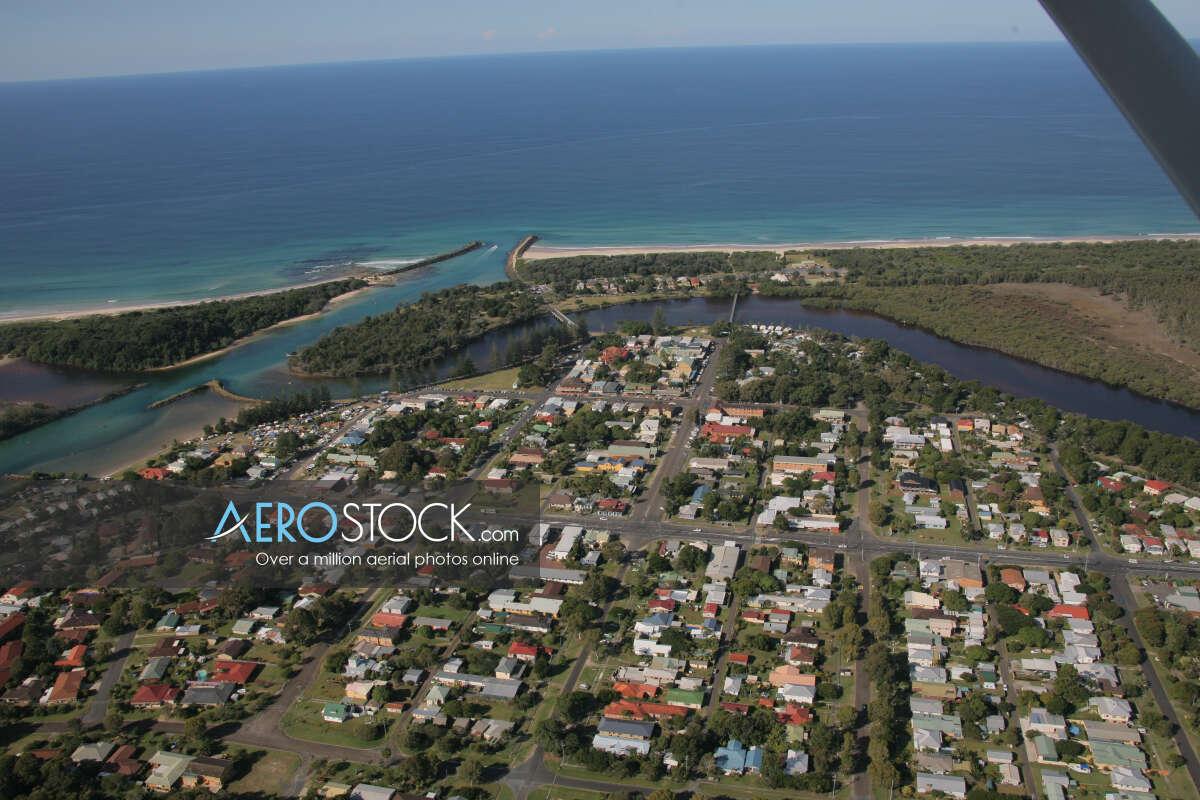 Stock photo of Brunswick Heads, NSW.