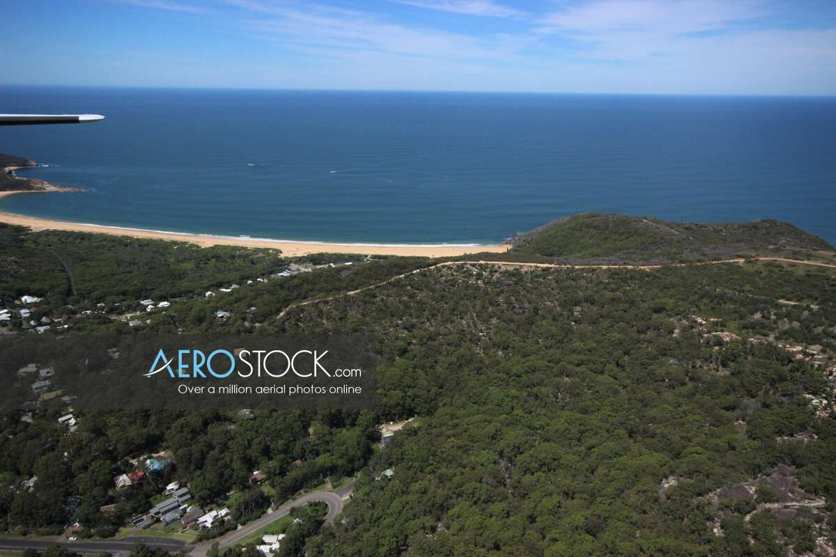 Panoramic aerial photo of Central Coast taken on March 18th, 2014 12:07.