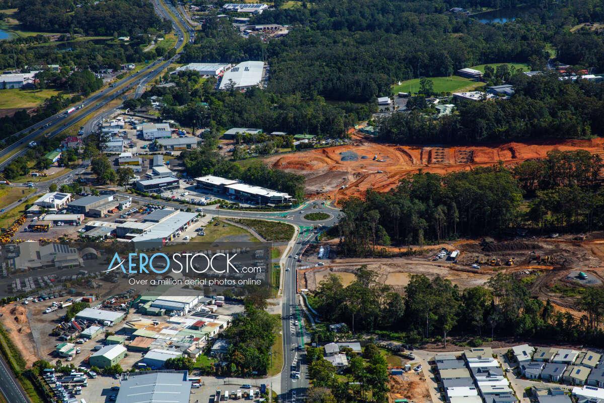 Sky-high image of Sunshine Coast taken on the October 3rd, 2019 08:31