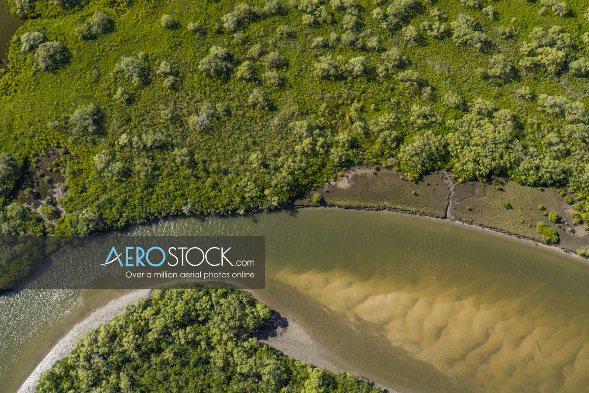 High resolution image of Coochin Creek in QLD.