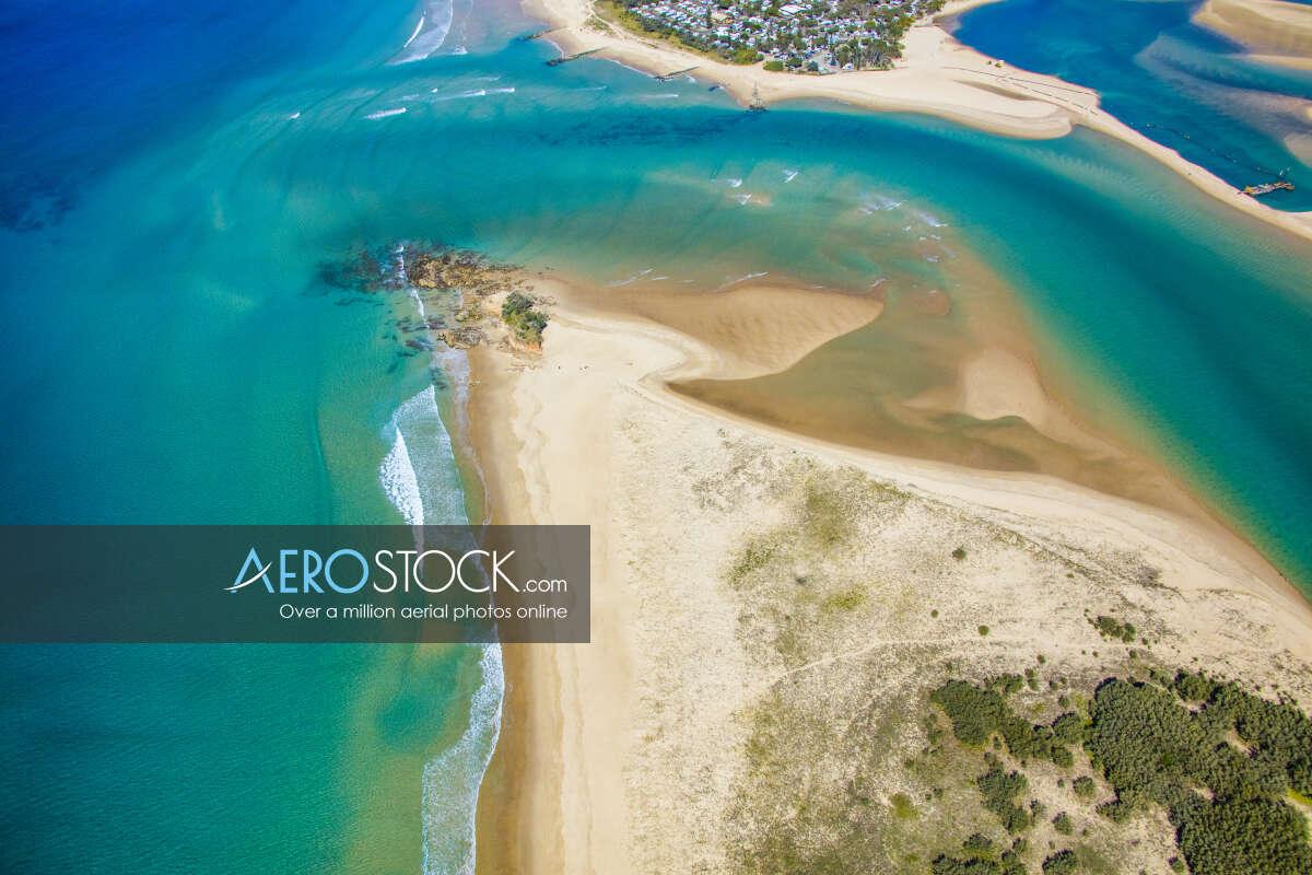 Aerial panoramic aerial photo of Maroochydore, 4558, Australia