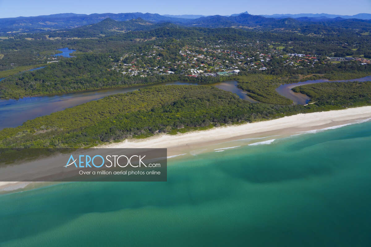 Stock photo of Ocean Shores, NSW.