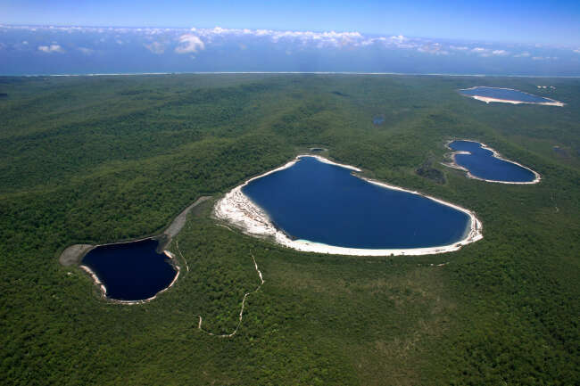 Fraser Island 4581, Fraser Island Lakes