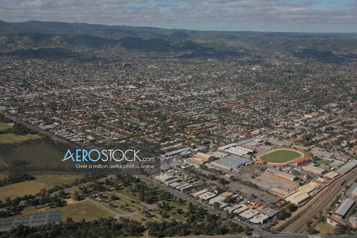 Sky-high pic of West Torrens, SA