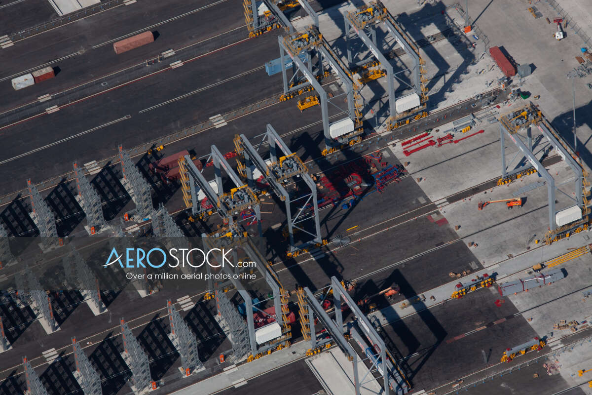 Stock photo of Port Of Brisbane, QLD.