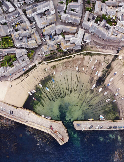 Mousehole Harbour 2, Cornwall England