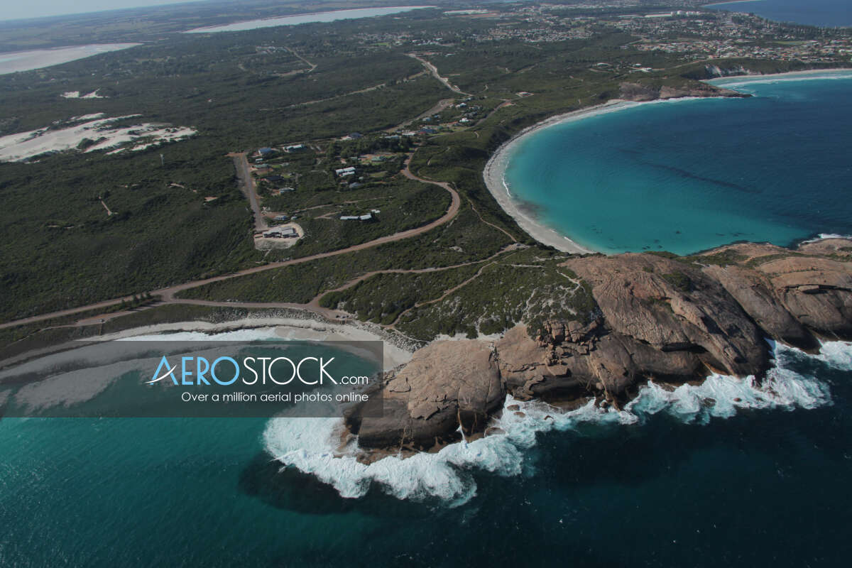 Sky-high panoramic aerial photo of Sinclair, 6450, Australia
