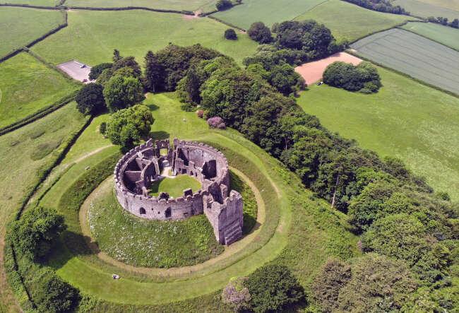 Restormal Castle 2, Cornwall England