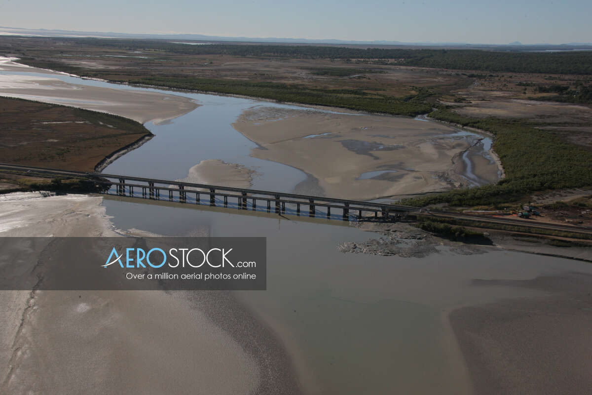 High quality panoramic aerial photo of St Lawrence.