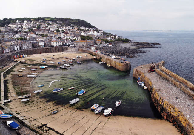 Mousehole Harbour 1, Cornwall England