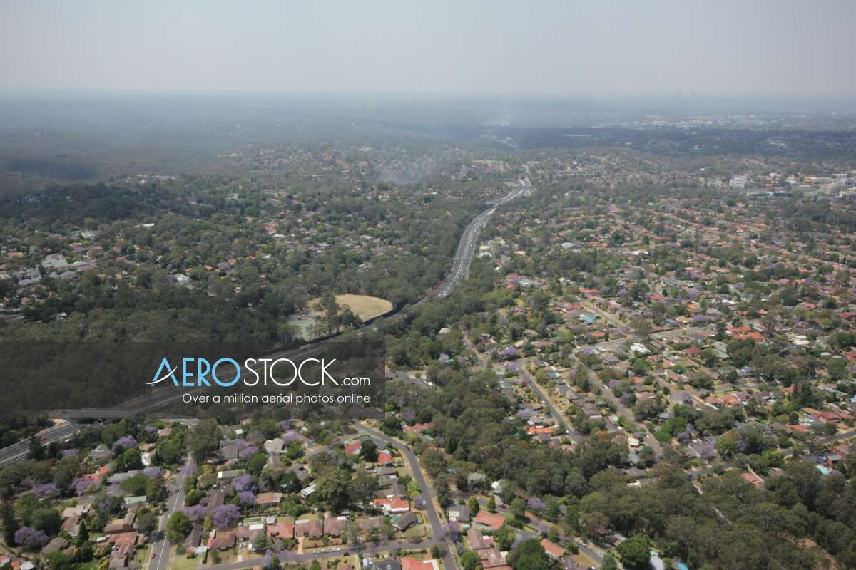 Aerial picture of Beecroft