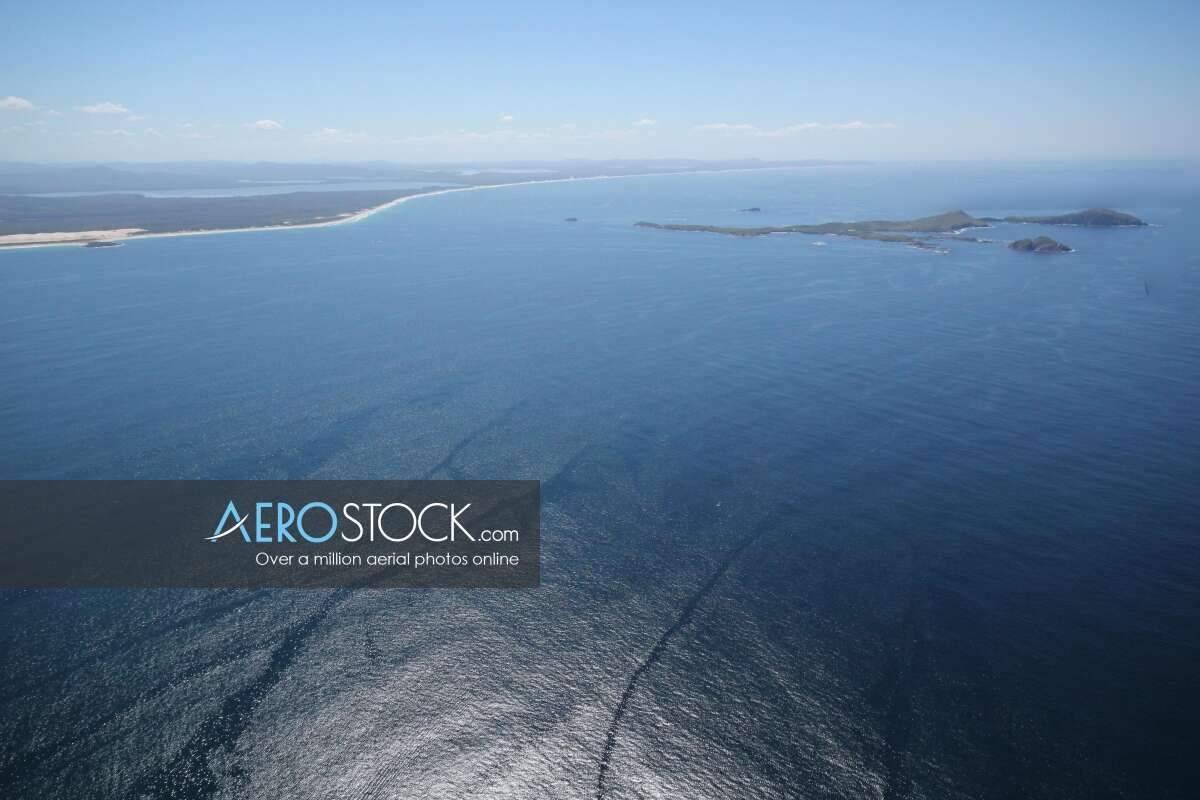 High definition stock image of Hawks Nest, NSW.