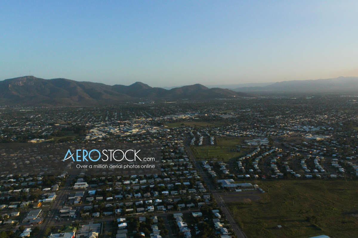 High DPI stock photo of Townsville in QLD.