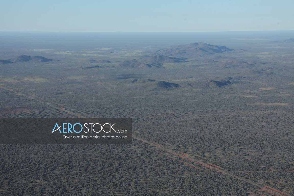 Full size panoramic aerial photo of Burt Plain