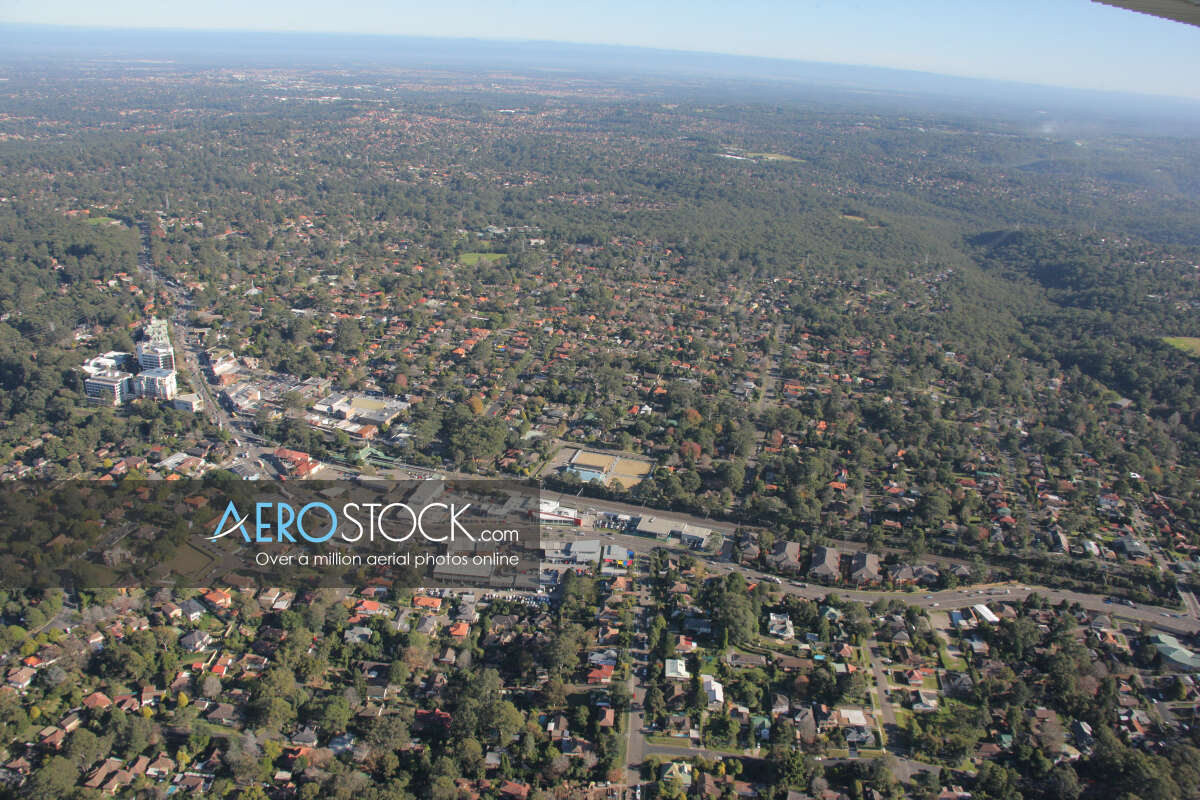 Stock photo of Thornleigh, NSW.