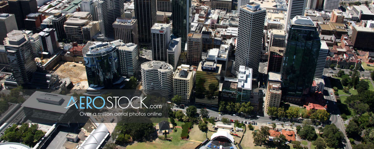 UAV image of Perth taken on the February 19th, 2008 16:08.