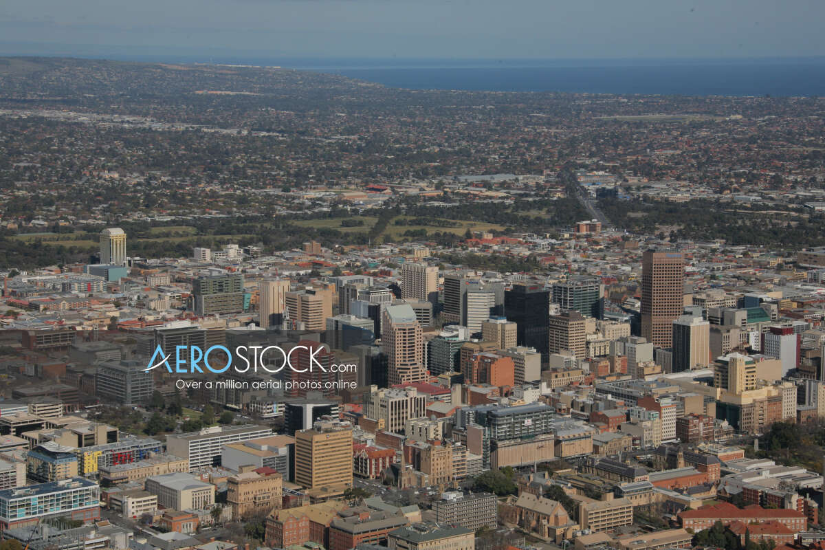 Discounted panoramic aerial photo of College Park, 5069.