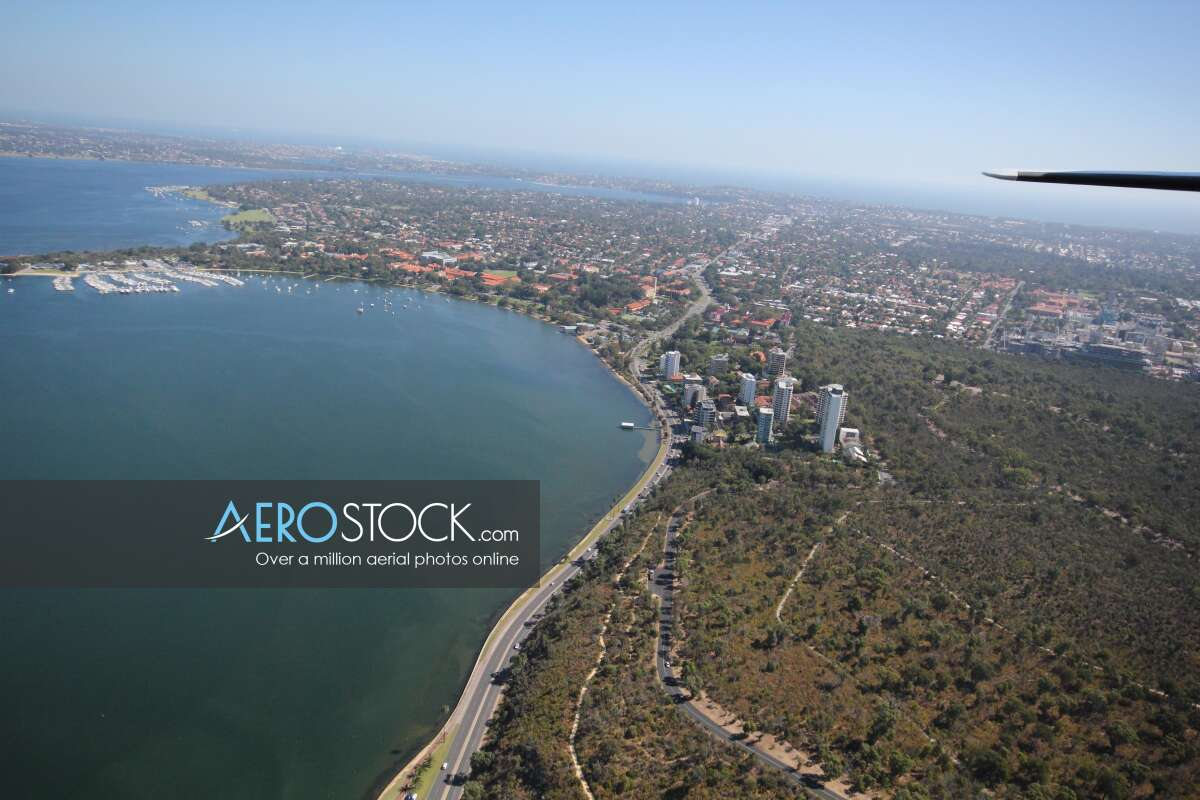 Cost effective image of West Perth, Western Australia.
