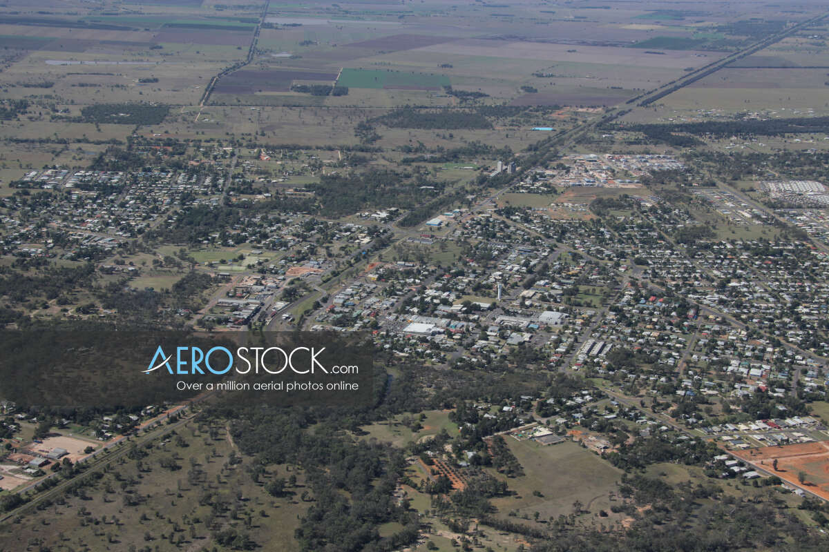 High res stock photo of Chinchilla, Queensland