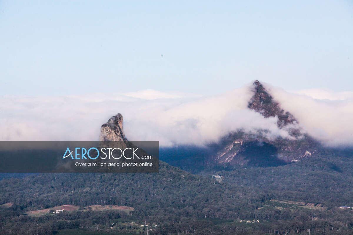 Full size snapshot of Glass House Mountains, Sunshine Coast