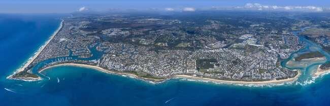 Maroochydore, Sunshine Coast Panorama
