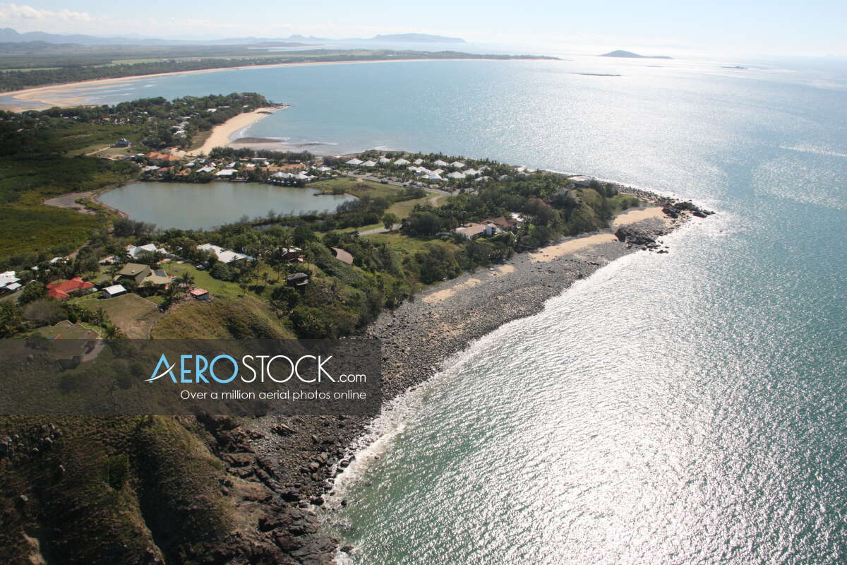 Sharp and finely detailed stock photo of Mackay in QLD.
