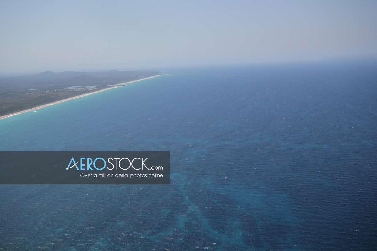 UAV stock photo of Coffs Harbour.