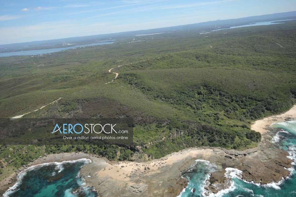 Quality UAV pic of Central Coast
