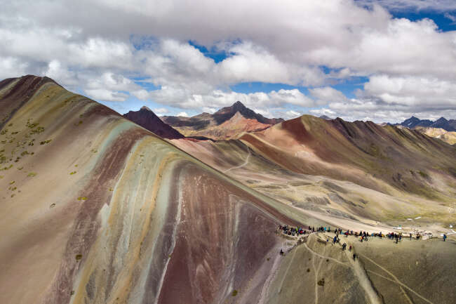 Rainbow Mountain 4, Peru