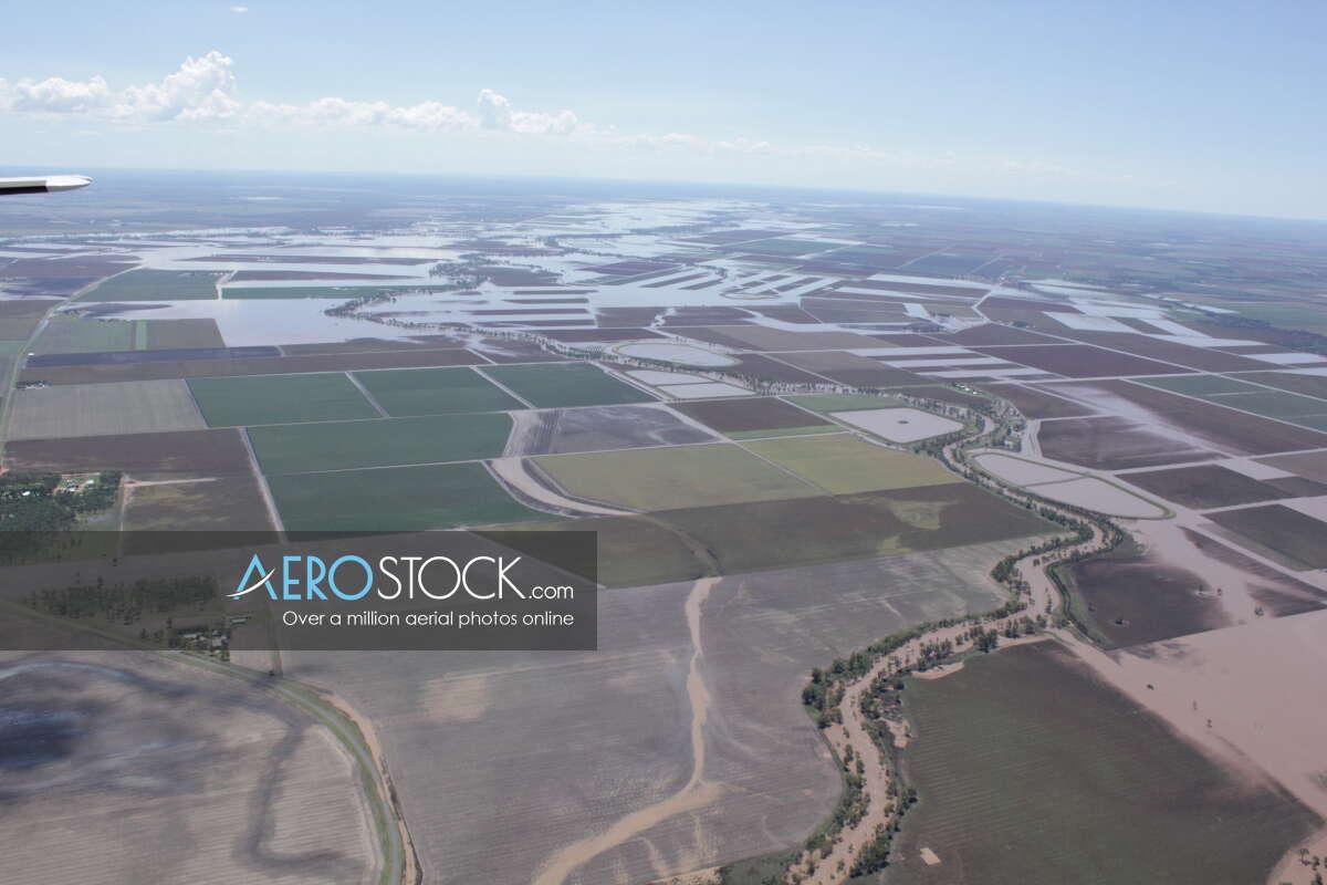Aerial snapshot of Toowoomba, Queensland.