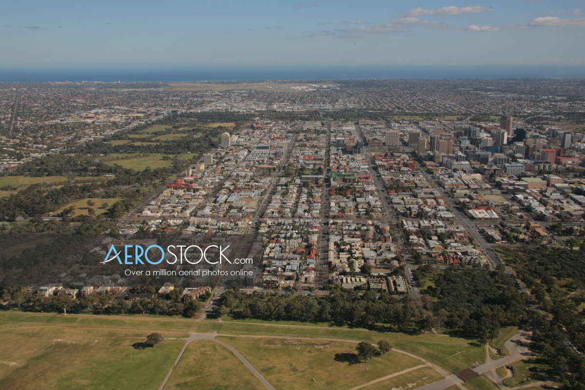 Sharp and finely detailed stock photo of Rose Park, South Australia.