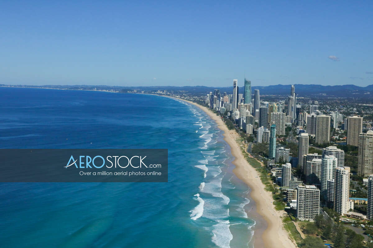 Full size stock photo of Main Beach, Queensland.