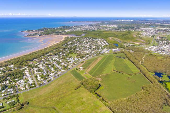 Aerial image of Bucasia, Mackay QLD