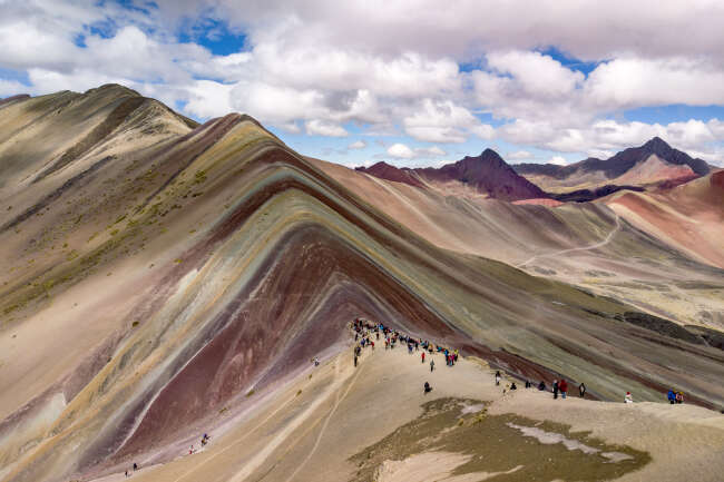 Rainbow Mountain 1, Peru