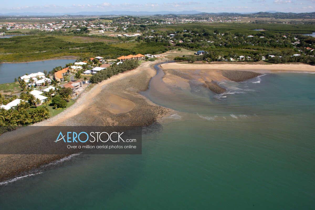Sky-high stock photo of Mackay.
