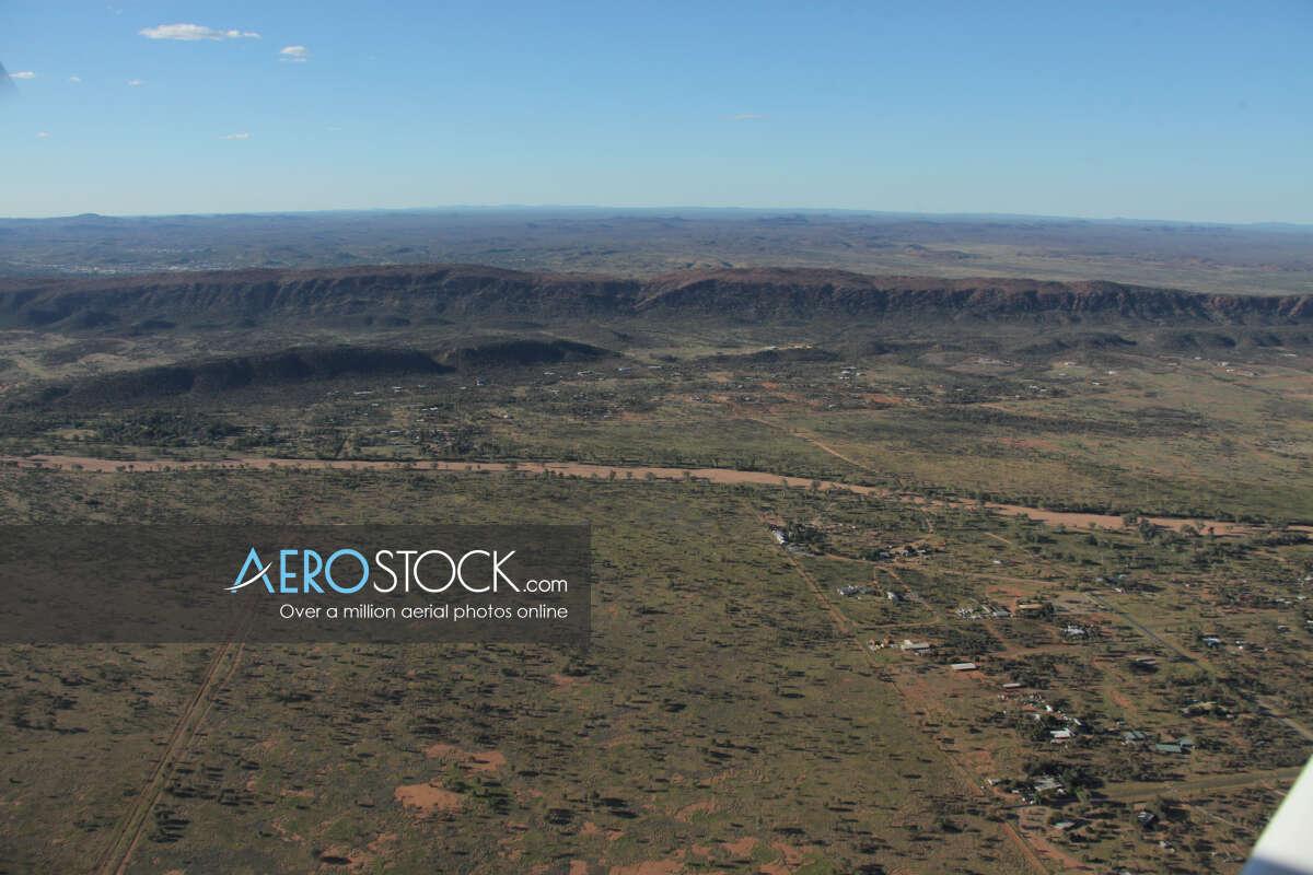 Ideal UAV pic of Alice Springs