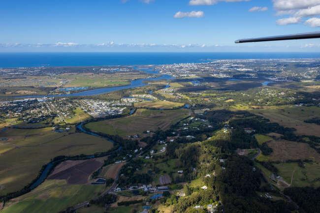 Rosemount, Sunshine Coast QLD aerial stock image