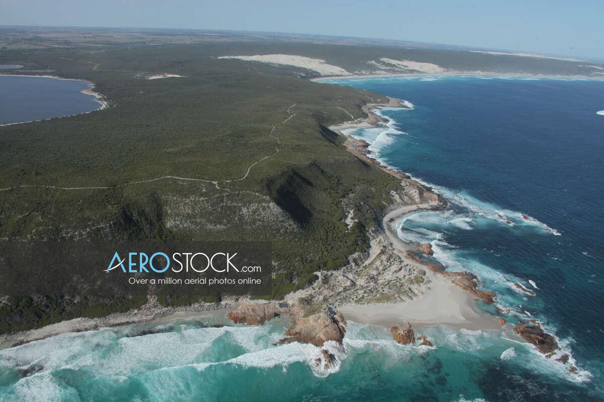 UAV panoramic aerial photo of Dalyup, 6450, Australia
