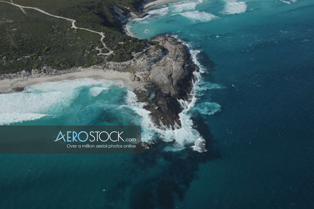 Panoramic aerial photo of Esperance taken on March 29th, 2012 17:24