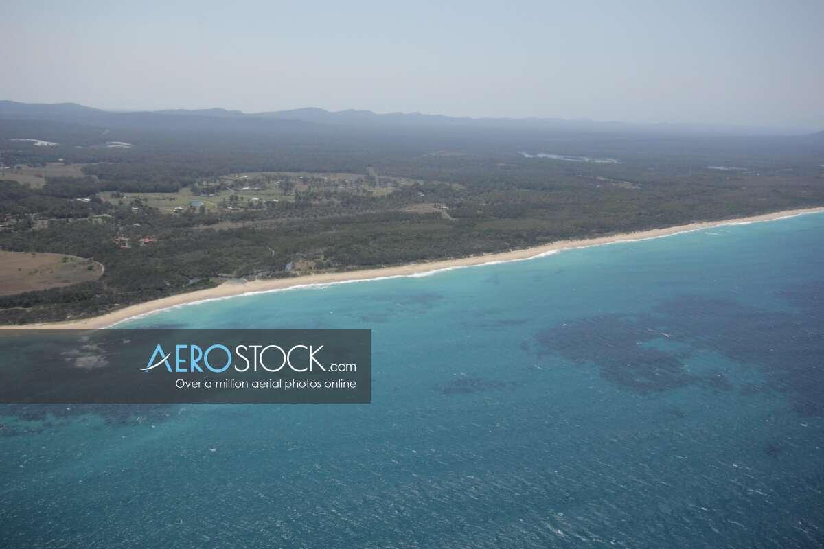 High DPI snapshot of Corindi Beach taken in 2013.