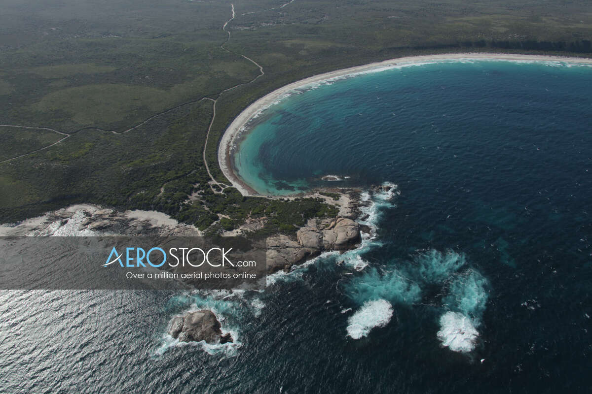 Panoramic aerial photo of Esperance taken on March 29th, 2012 17:29.